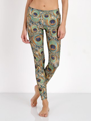 Onzie Long Legging Peacock Green