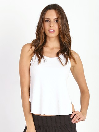 Knot Sisters Recap Muscle Tee White