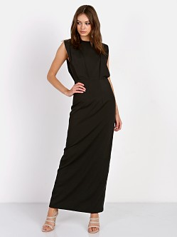 Line & Dot Isabel Maxi Dress Black