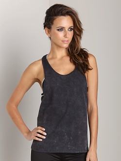 First Base Super Dropped Armhole Tank Vintage Black