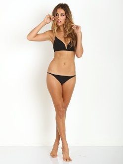 Zimmermann Sundown Bonded Plunge Bikini Black