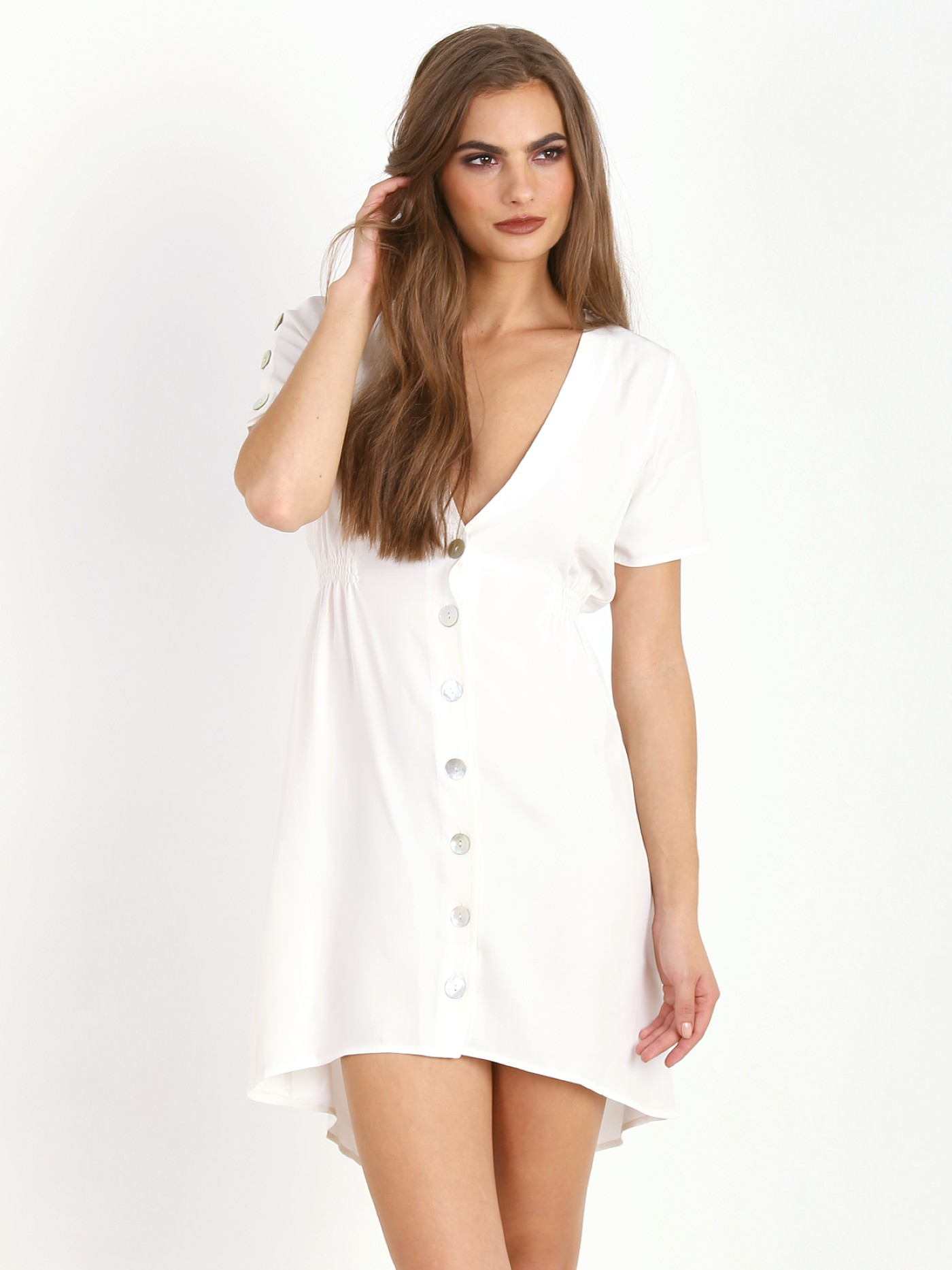 4932d4833a4 Stone Cold Fox James Dress White - Free Shipping at Largo Drive