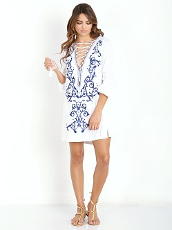 The Jetset Diaries Dynasty Tunic White
