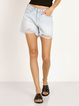 Zulu & Zephyr Boyfriend Short Washed Blue