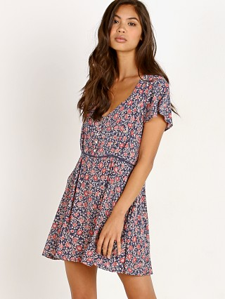 Spell & The Gypsy Jasmine 90's Mini Dress Navy