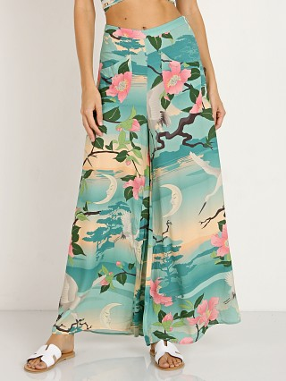 Spell & The Gypsy Nightingale Wide Leg Pants Green