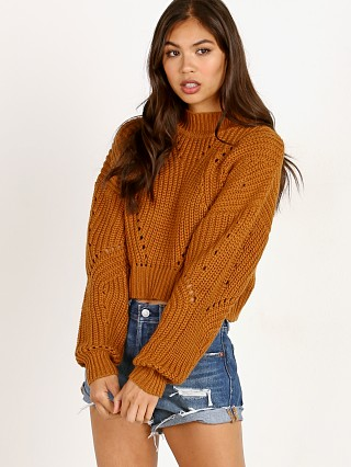 ASTR the Label Carly Sweater Mustard
