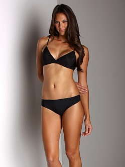Calvin Klein Raw Cut Thong Black