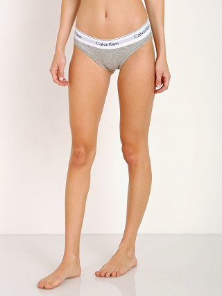 Complete the look: Calvin Klein Modern Cotton Bikini Grey