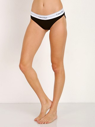 Complete the look: Calvin Klein Modern Cotton Bikini Black