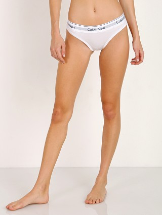 Complete the look: Calvin Klein Modern Cotton Bikini White