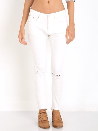 One Teaspoon White Desperados Moleskin Jeans