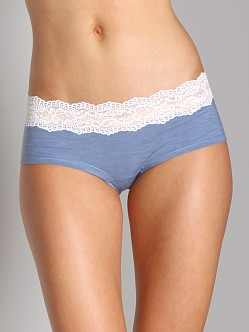Cosabella Ever Low Rise Hotpant Heather Denim