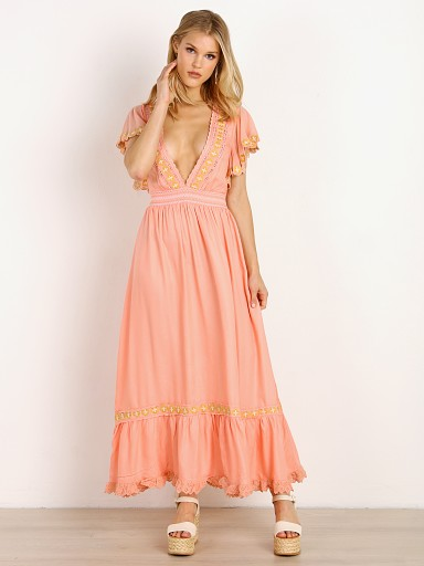 Cleobella Camelia Dress Guava