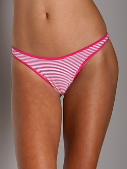 Cosabella Verity Low Rise Thong Fushsia