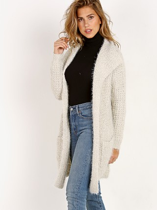 BB Dakota Ardine Furry Boucle Cardigan