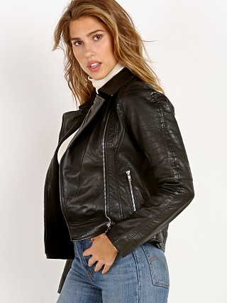 BB Dakota Harwick Garment Washed Leather Jacket