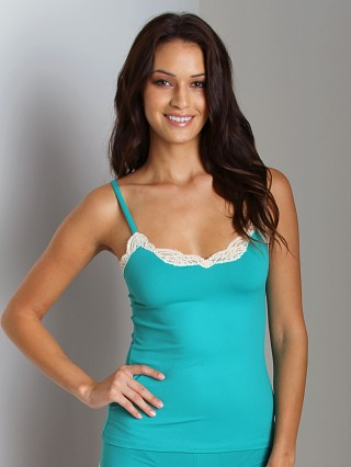 Only Hearts Delicious With Lace V-Neck Cami Jade