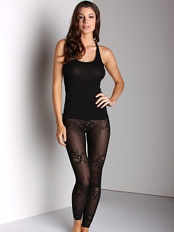 Only Hearts Abby Rose Leggings Black