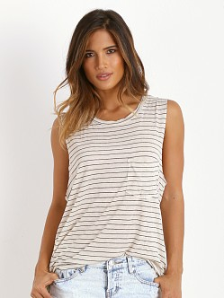 Daydreamer Stripe Muscle Tank