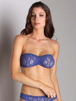Only Hearts Stretch Lace Bandeau Lapis