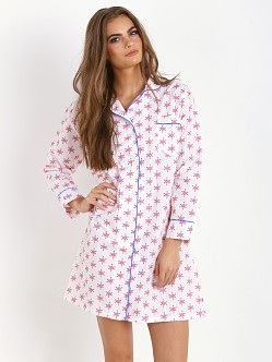 Marigot Night Shirt Rose Snowflake