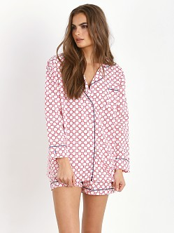 Marigot Short Pajama Set Flame Link