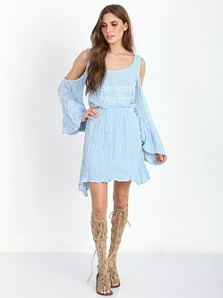 Jen's Pirate Booty Baudelaire Mini Dress Sky Blue