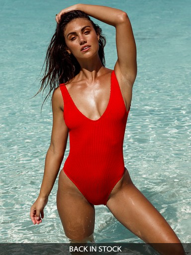 BOUND by Bond-Eye The Mara One Piece Baywatch Red