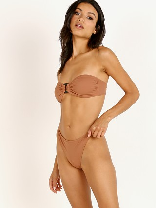 Solid & Striped The Tati Bikini Top Mocha