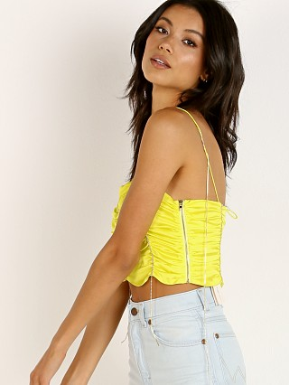 Complete the look: For Love & Lemons Meringue Shirred Top Neon Lime