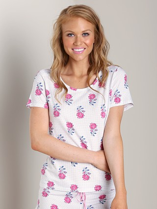 Complete the look: Juicy Couture Printed Sleep Shirt White Woodblock