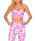 Beach Riot Cara Legging Pink/Purple Tie Dye, view 4