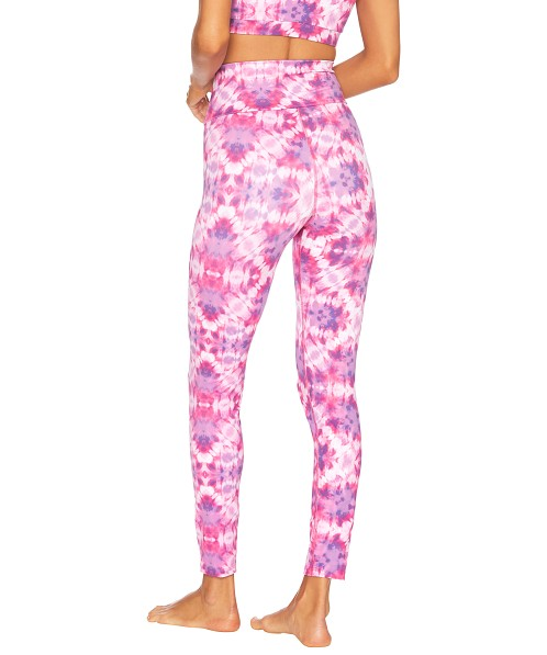 Beach Riot Cara Legging Pink/Purple Tie Dye