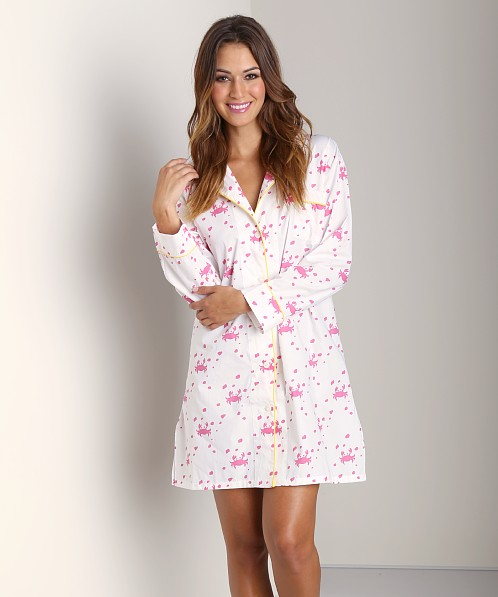 Marigot Night Shirt Azalea Crab