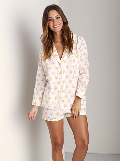 Marigot Short PJ Set Melon Starfish