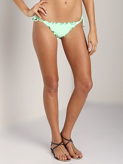 Seafolly Shimmer Brazilian Tie Side Limelight