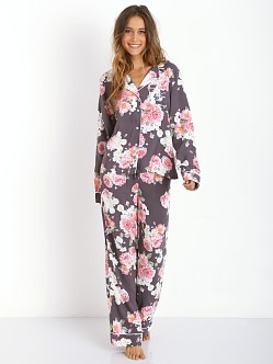 WILDFOX Classic PJ Set Austen Rose