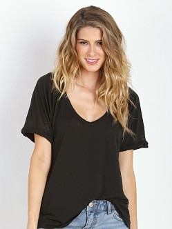 Free People Free Falling Tee Union Black