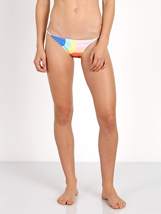 Mara Hoffman String Side Bottom White Multi