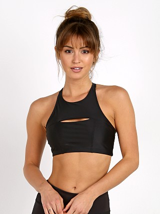 Onzie Open Heart Sports Bra Black