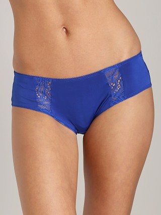 SKIVVIES by For Love & Lemons Erotica Hipster Brief Cobalt