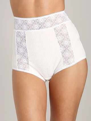 SKIVVIES by For Love & Lemons Extra Virgin High Waist Brief Ivor