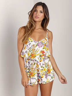 MinkPink Wild Arrangement Playsuit