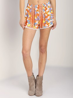 MinkPink Orange Blossoms Shorts