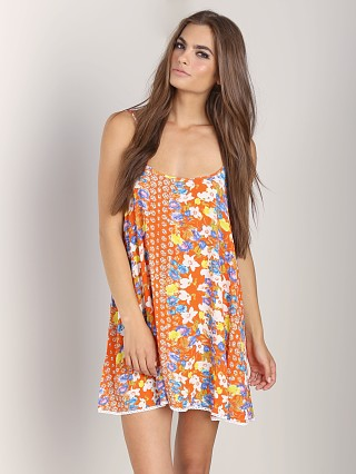 MinkPink Orange Blossoms Dress