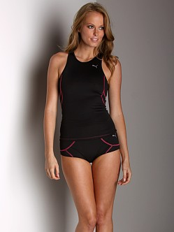 Puma Pro-Tech Racer Back Tank Black