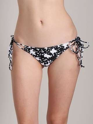 Complete the look: Rachel Pally Vanuatu Bikini Bottom Black Bonsai