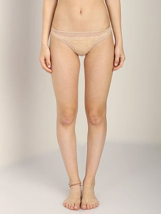 Complete the look: Calvin Klein Crochet Lace Thong Bare