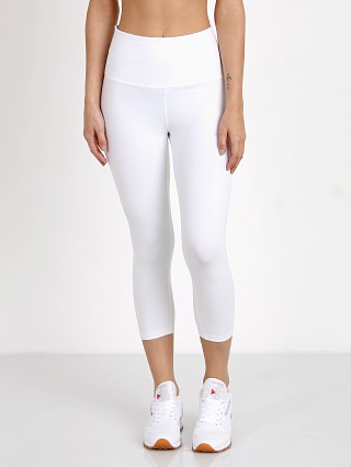 Beyond Yoga High Waist Capri Legging White